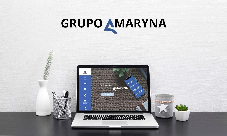 mock up Grupo Amaryna